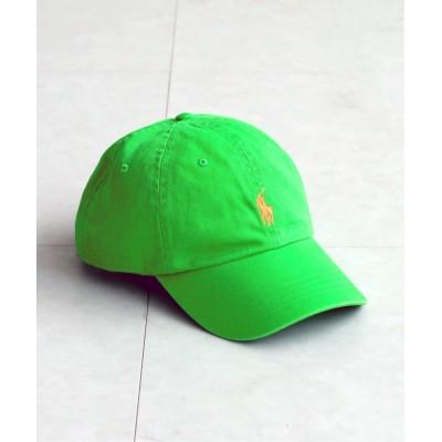 エディフィス 【POLO RALPH LAUREN / ポロ ラルフローレン】 販路限定 CLS SPORTS CAP HAT グリーン D フリー