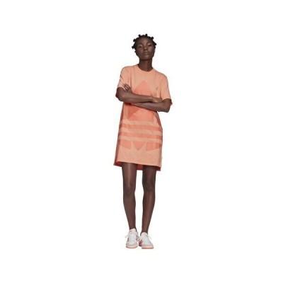(取寄)アディダス レディース オリジナルス アディカラー トレフォイル ラージ ロゴ ドレスWomen's adidas Originals Adicolor Trefoil Large Logo Dress C