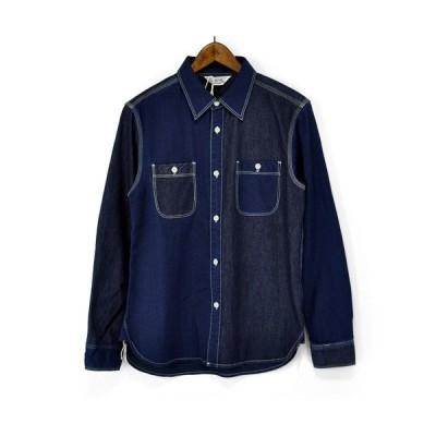 FIVE BROTHER(ファイブブラザー)151721 Denim Shirts デニムシャツ L/Sシャツ ワークシャツ 長袖デニムシャツ 長袖ワークシャツ