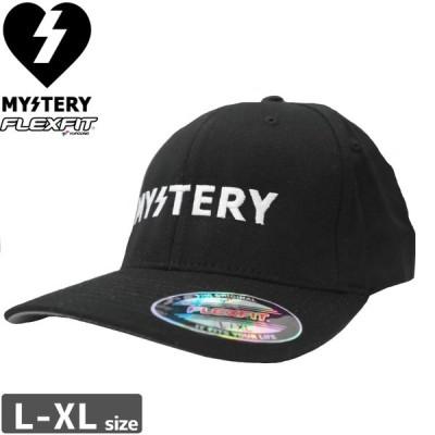 MYSTERY ミステリー スケボー キャップ TEXT LOGO FLEX HAT NO4