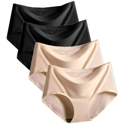 シームレスショーツ レディース パンツ 下着 従来の色4枚セット(従来の色「4枚セット」, M)