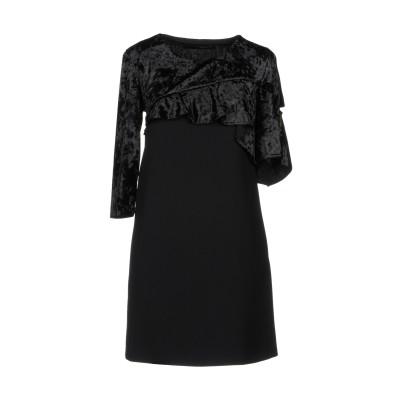 アンナリータ エンネ ANNARITA N ミニワンピース&ドレス ブラック 44 ポリエステル 97% / ポリウレタン 3% ミニワンピース&ド