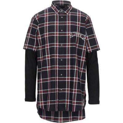 ジョン リッチモンド JOHN RICHMOND メンズ シャツ トップス Checked Shirt Black