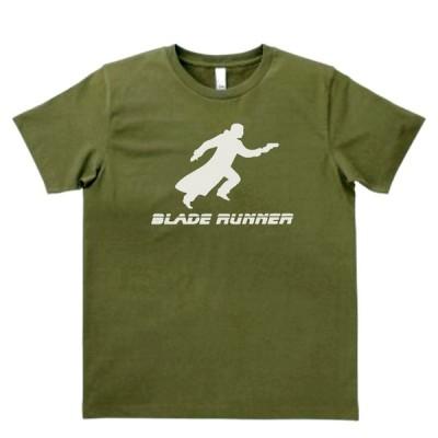 音楽・バンド・ロック・シネマ  Tシャツ BLADE  RUNNER ブレードランナー カーキー MLサイズ