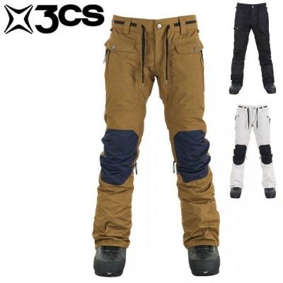 17-18 スリーシーエス クラッシュ メンズパンツ 3CS Clash Mens Pant Dearborne/Jet/Stone スノーウェア スキー スノーボード 男性用 3CW17007