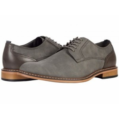 Steve Madden スティーブマデン メンズ 男性用 シューズ 靴 オックスフォード 紳士靴 通勤靴 Ajapp Oxford Grey【送料無料】