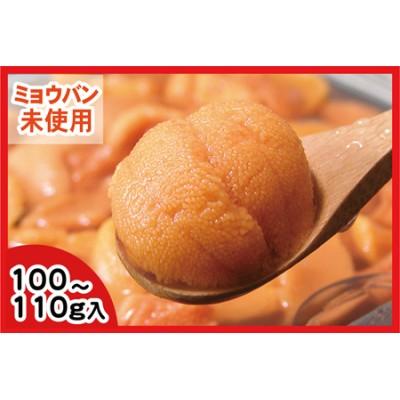 エゾバフンウニ(黄色)塩水パック100~110g×1P A-56005