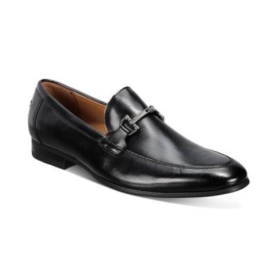 アルファニ スリッポン・ローファー シューズ メンズ Men's Otis Bit Loafers,  Black