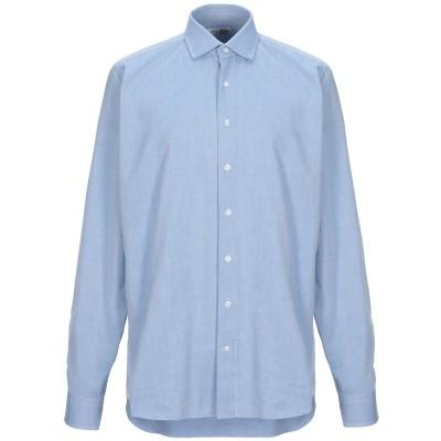 DESI CAMICERIA シャツ アジュールブルー 44 コットン 100% シャツ