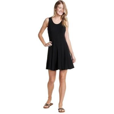ドード アンドコー ワンピース レディース トップス Daisy Rib SL Dress - Women's Black
