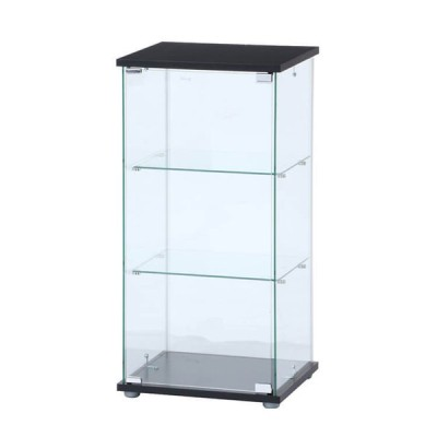 コレクションケース ガラス ガラスコレクションケース(クリア)3段 TMG-G132 98881 メーカー直送品 コレクションラック コレクションボード