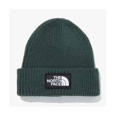 Outfitter lab / THE NORTH FACE(ザ・ノースフェイス) / TNF LOGO BOX CUFFED BEANIE MEN 帽子 > ニットキャップ/ビーニー