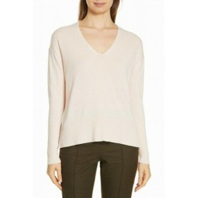 Nordstrom ノードストローム ファッション トップス Nordstrom Signature NEW Pink Womens Size Small S V-Neck Sweater