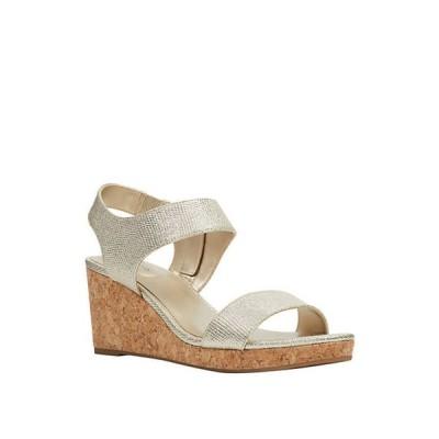 バンドリーノ レディース サンダル シューズ Tessa Cork Wedge Sandals