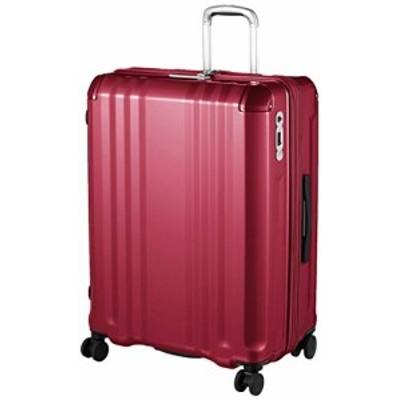 【送料無料】[エー・エル・アイ] スーツケース デカかる Edge 70.5 cm ワインレッド