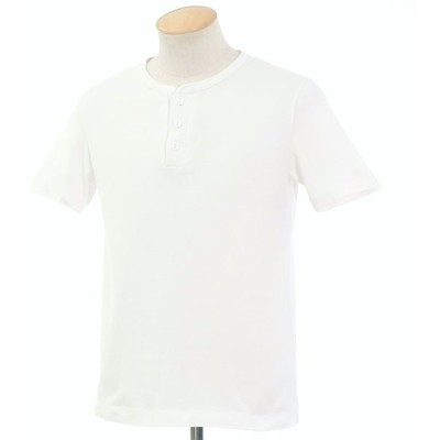 ブリッラ ペル イル グスト Brilla per il gusto ヘンリーネック 半袖Tシャツ ホワイト S