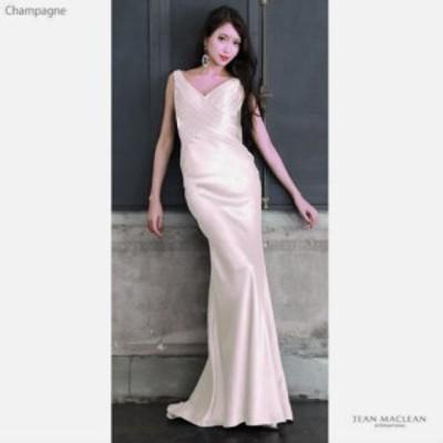JEANMACLEAN ドレス ジャンマクレーン キャバドレス ナイトドレス ロングドレス jean maclean ピンク 9号 M 91585 クラブ スナック キャ