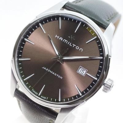 ハミルトン HAMILTON 腕時計 メンズ H32451801 ジャズマスター クォーツ ブロンズ カーキ