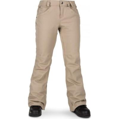 ボルコム Volcom レディース スキー・スノーボード ボトムス・パンツ Grail 3D Stretch Pants Sand Brown