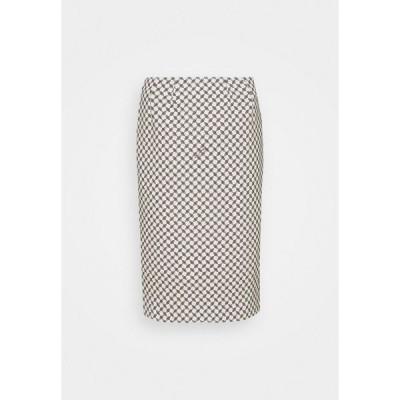 エリザベスフランキ スカート レディース ボトムス Pencil skirt - burro/nero