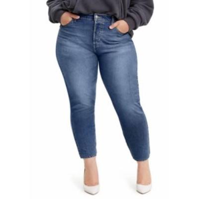 リーバイス レディース デニムパンツ ボトムス Plus Size Wedgie Mental Block Skinny Jeans Medium Wash