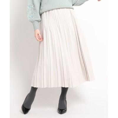 WORLD ONLINE STORE SELECT / マイクロコーデュロイプリーツスカート WOMEN スカート > スカート