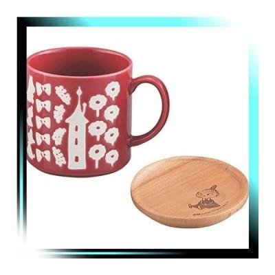 MOOMIN ムーミン マグカップ リトルミイ柄 木製コースター付 MM7