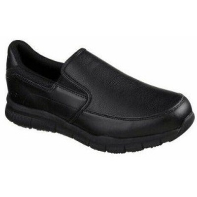 SKECHERS スケッチャーズ シューズ ブーツ Skechers Mens  Work Relaxed Fit Nampa Groton Slip Resistant Shoe