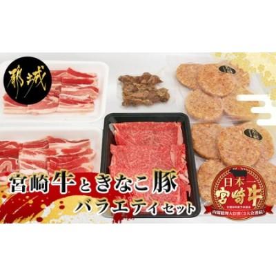 宮崎牛と「きなこ豚」バラエティセット_AC-4404