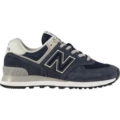 ニューバランス New Balance レディース スニーカー シューズ・靴 574 Classic Trainers Navy GN
