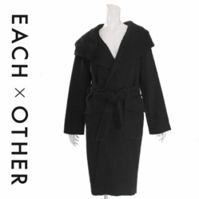 EACH×OTHER ベルト付きコート FW18G21067 レディース(イーチ アザー)EACH OTHER 33293