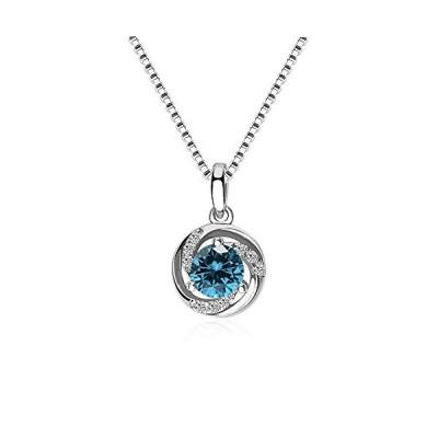 MIKAMU ネックレス レディースダイヤモンドCZ シルバー925 純銀製 人気 一粒CZ タグ ペンダント バレンタインギフト・誕生日・
