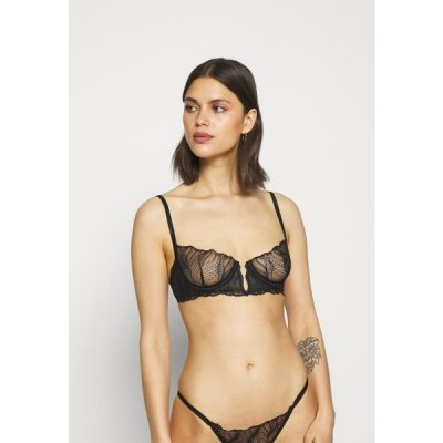 ブルーベラ レディース ファッション IRENA BRA - Underwired bra - black