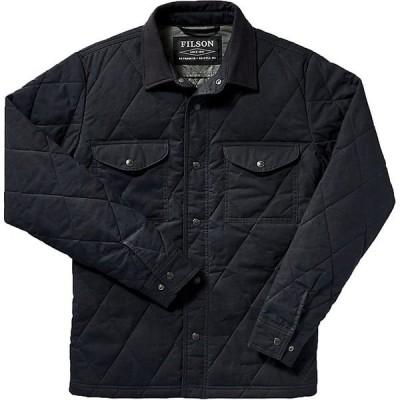 フィルソン ジャケット&ブルゾン メンズ アウター Filson Men's Hyder Quilted Jac-Shirt Faded Navy