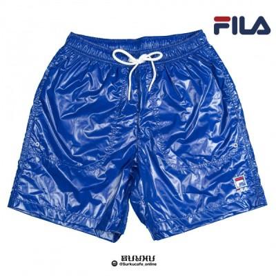FILA HERITAGE EASY SHORT PANT フィラ ナイロン ショートパンツ BLUE