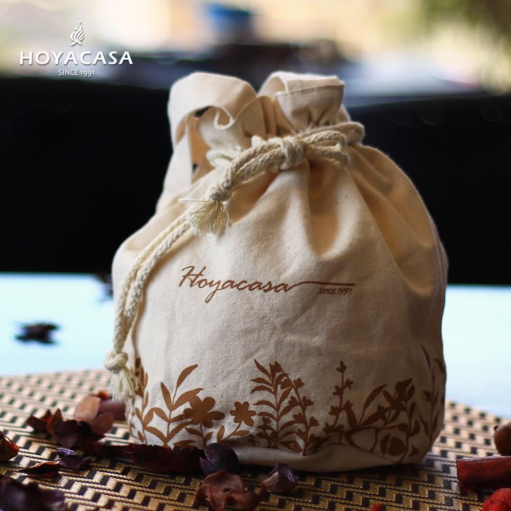 7月滿額贈!HOYACASA 品牌精緻帆布提袋(一入)