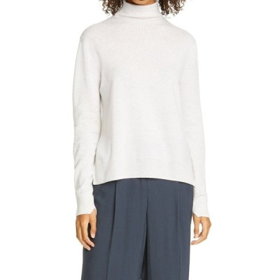 ヴィンス レディース ニット&セーター アウター Stephem Turtleneck Sweater HEATHER WHITE