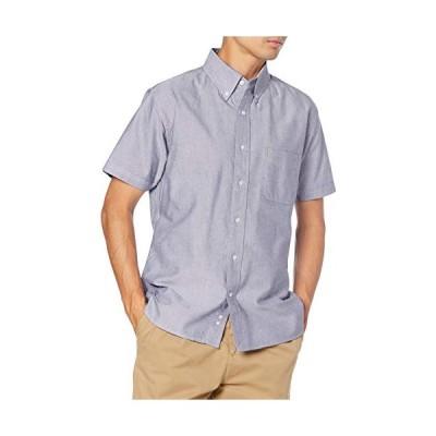 エフスタイル 半袖シャツ F-STYLE 細部に拘ったオックスフォード ボタンダウン半袖シャツ メンズ F-SD020376 OXグレー 日