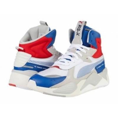PUMA プーマ メンズ 男性用 シューズ 靴 スニーカー 運動靴 RS-X Midtop Utility Galaxy Blue/Puma White【送料無料】