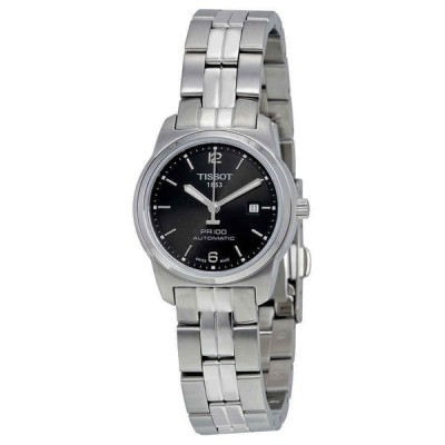 ティソ 腕時計 Tissot PR100 Automatic Black Dial Ladies Watch T0493071105700