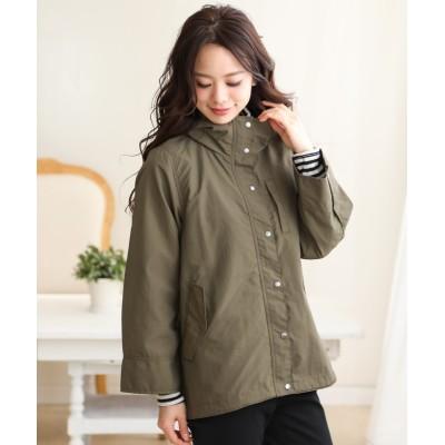 ミリタリーショートコート (コート)(レディース)Coat