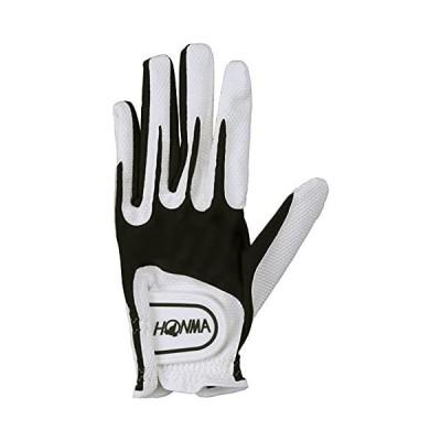 本間ゴルフ ユニセックス ゴルフグローブ SPEEDMONSTER 左手用 ホワイト/ブラック L GC13001 (WH/BK L)