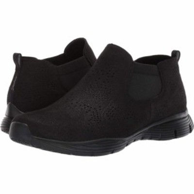 スケッチャーズ SKECHERS レディース ブーツ シューズ・靴 Seager - Rooky Black/Black