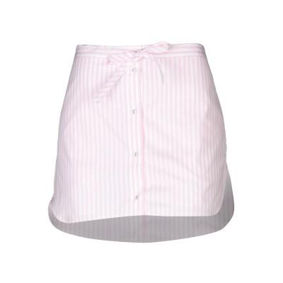 VICTORIA, VICTORIA BECKHAM ミニスカート ピンク 8 コットン 100% ミニスカート