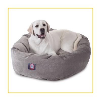 【☆送料無料☆新品・未使用品☆】40 inch Vintage Villa Collection Micro Velvet Bagel Dog Bed By Majestic Pet Products by Majestic Pet