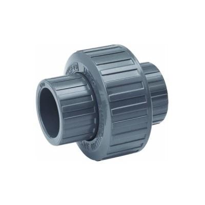 "Mueller/B & K164-604PVC Grey Solvent Weld Union-3/4"" PVC UNION (並行輸入品)"