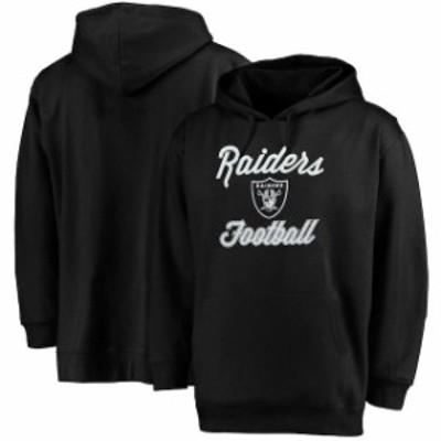 Majestic マジェスティック スポーツ用品  Majestic Oakland Raiders Womens Black Plus Size Rookie Pullover Hoodie