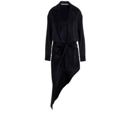 ALEXANDER WANG/アレキサンダーワン Black   Chermisier silk dress レディース 秋冬2020 1WC2206301001 ju
