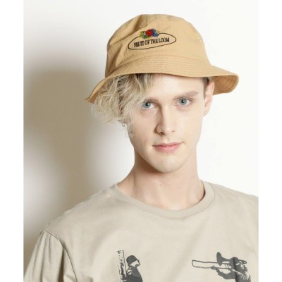 帽子 ハット 【FRUIT OF THE LOOM/フルーツオブザルーム】RETRO BUCKET HAT