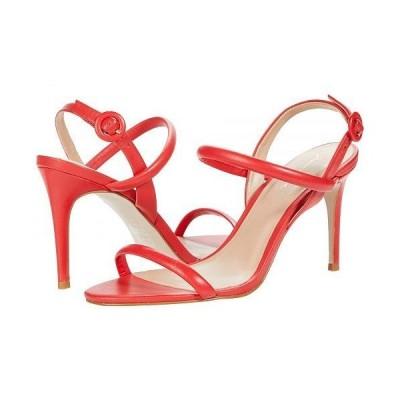 Massimo Matteo マッシオマッテオ レディース 女性用 シューズ 靴 ヒール Evening Leather Sandal - Vermelho